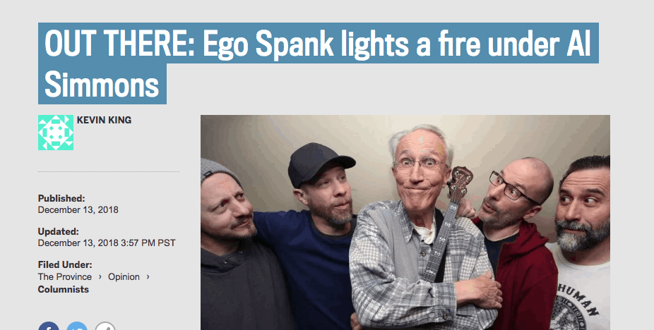 Ego Spank and Al Simmons